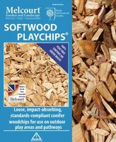 Melcourt PlayChips Softwood 70lt