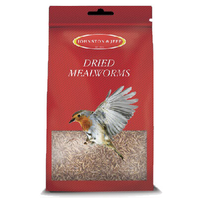 Johnston & Jeff Mealworms 6 x 100g
