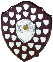 30cm Swatkins Shield with 28 Date Placings