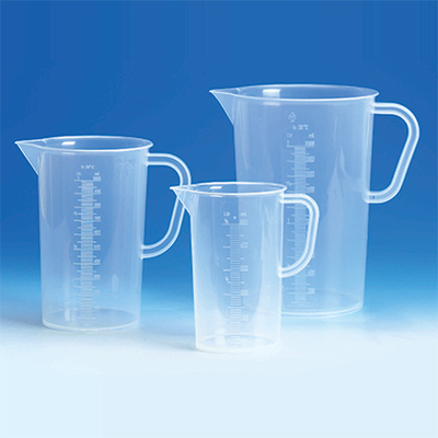 Jug 2000ml Transparent Pp Tall Form With Handle