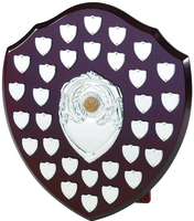 35cm Swatkins Shield with 32 Date Placings