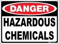 DANGER Hazardous Chemicals