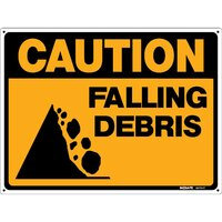 CAUTION Falling Debris