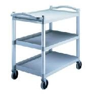 Cambro Trolley 3 Tier H/D Speckled Grey 1015x540x950mm High