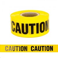 Barrier Tape Caution - Heavy Duty 75mm x 250m