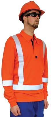 Arcdry Flame Retardant Polo With Transit Tape