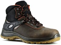 Grisport Trento Wide Fit Composite Midsole & Toe Lace Up Safety Boot Brown