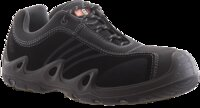 No8 BlackTrack Lace Up Composite Toe Safety Shoe Black/Grey