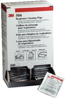 3M 504 Respirator Cleaning Wipe Box 100