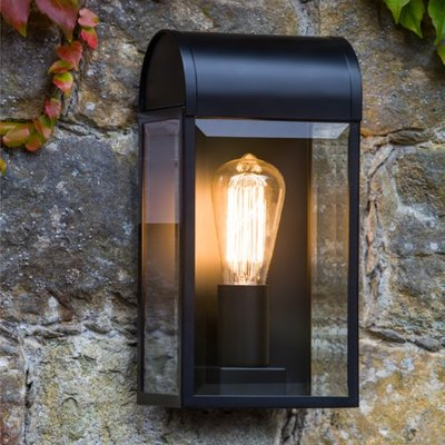 ASTRO NEWBURY EXTERIOR WALL LIGHT BLACK