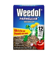 Weedol Pathclear Weedkiller 12 tubes