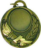 50mm Victory Torch Medal (Gold)