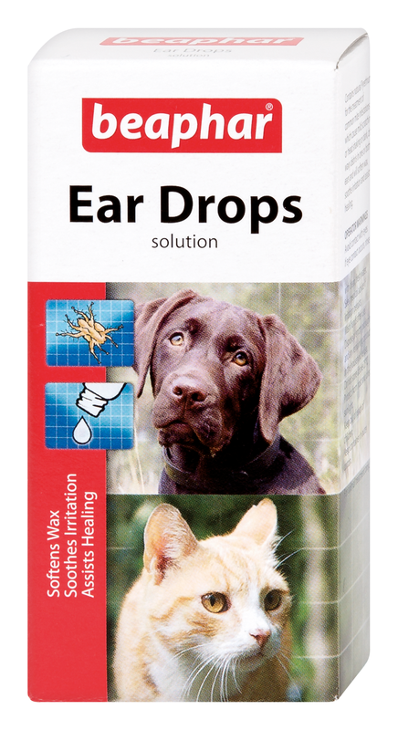 Beaphar Canac Ear Drops Cat & Dog 6 x 15ml