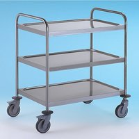 Trolley S/S 3Tier 900x550x960mm with Brakes