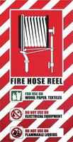 FIRE Hose Reel Blazon Sign