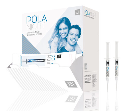 SDI Pola Night Bulk Syringe Dispenser Pack - 50 x 3g 16% CP Next Day Delivery from DMI - Ireland's Leading Professional Dental Supplier - ROI: 01 427 3700 | NI: 028 9260 1000