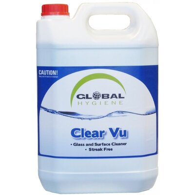 Global Clear Vu Glass&Surface Cleaner 5L